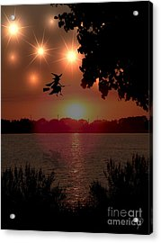 The Woodmere Witch Acrylic Print by Laurence Oliver