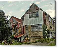 The Woodmill Acrylic Print by Julie Williams