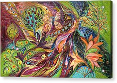 The World Of Lilies ...... The Original Can Be Purchased Directly From Www.elenakotliarker.com Acrylic Print by Elena Kotliarker