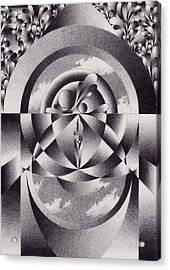 Theatre Acrylic Print by Herb Jordan