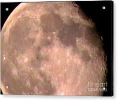 Theres A Moon Out Tonight Acrylic Print by John From CNY