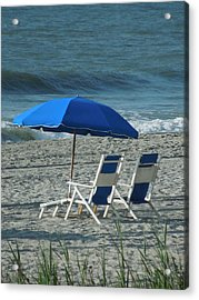 These Chairs Are Calling Your Name Acrylic Print