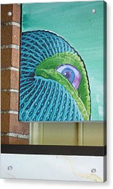 Thing Outside A Window Acrylic Print