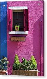 Think Pink Acrylic Print