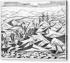 Third Barents Arctic Expedition, 1596 Acrylic Print