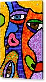 Third Eye Rising Acrylic Print