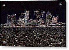 This City Is Rockin' Acrylic Print by Carol Groenen