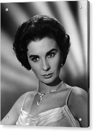 This Earth Is Mine, Jean Simmons, 1959 Acrylic Print