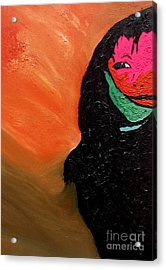 Acrylic Print featuring the painting This Is It by Ayasha Loya