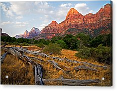 This Is Zion Acrylic Print by Peter Tellone