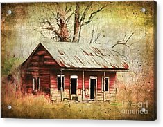This Old House Acrylic Print by Judi Bagwell