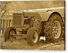 This Old Tractor Acrylic Print