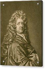 Thomas Betterton C. 1635-1710, Leading Acrylic Print by Everett