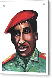 Thomas Sankara Acrylic Print