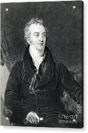 Thomas Young, English Polymath Acrylic Print by Photo Researchers