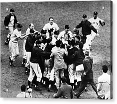 Thomson Home Run, 1951 Acrylic Print