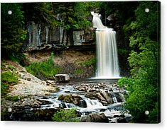 Thornton Force Waterfall 2 Acrylic Print by Andy Comber