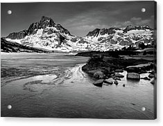 Thousand Island Lake, Mt. Ritter And Banner Peak Acrylic Print by David Kiene