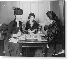 Three Feminists Activists Acrylic Print by Everett