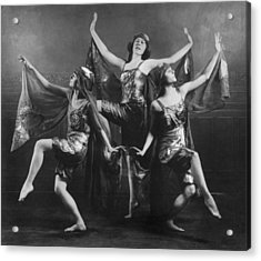 Three Graces Acrylic Print by Archive Photos