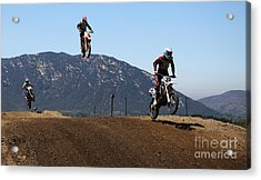 Three In The Air Acrylic Print