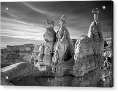 Acrylic Print featuring the photograph Three Kings by Mike Irwin