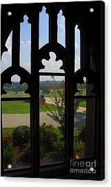 Acrylic Print featuring the photograph Through The Chapel Arches by Cindy Manero