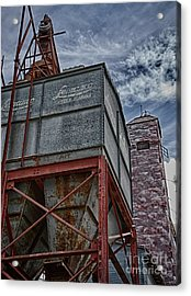 Through The Mill Acrylic Print by Ken Williams
