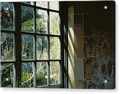 Acrylic Print featuring the photograph View Through The Window by Marilyn Wilson