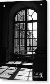 Through The Window Acrylic Print by Ivy Ho