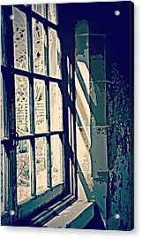 Acrylic Print featuring the photograph View Through The Window - Painterly Effect by Marilyn Wilson