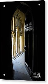 Acrylic Print featuring the photograph Thru The Chapel Door by Cindy Manero