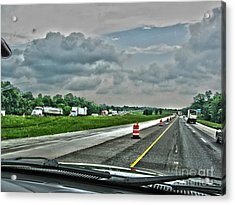 Thunder Road Acrylic Print by Alan Look