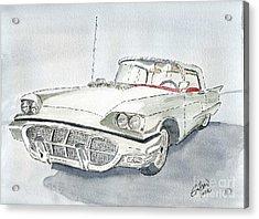 Thunderbird 1960 Acrylic Print