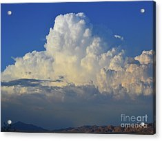 Acrylic Print featuring the photograph Thunderhead by Suzette Kallen