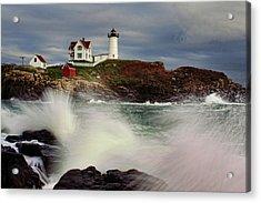 Thundering Tide Acrylic Print by Rick Berk