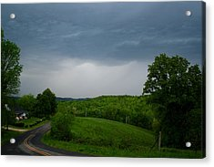 Acrylic Print featuring the photograph Thunderstorm by Kathryn Meyer