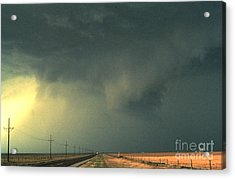 Thunderstorm, Storm Core Acrylic Print by Science Source