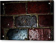 Thurber Brick Acrylic Print