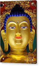 Tibetan Bhudda 3 Acrylic Print by Bob Christopher