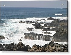 Tidal Falls Acrylic Print by Anthony Trillo