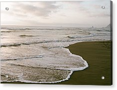 Tide Acrylic Print by Ariane Moshayedi