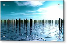 Tide Is Out... Acrylic Print by Tim Fillingim