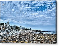 Tides Out Acrylic Print by Dan Crosby