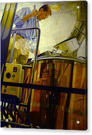 Tight Squeeze Acrylic Print by Gregg Hinlicky