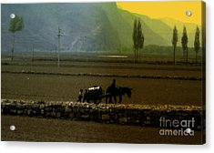Acrylic Print featuring the photograph 'til The Day Is Done by Lydia Holly