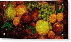 Tiled Fruit  Acrylic Print