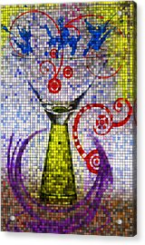 Tiled Glass Acrylic Print