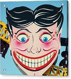 Tillie The Clown Of Coney Island Acrylic Print