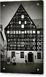 Timber-frame House Weimar Acrylic Print by Christine Till